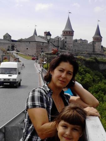 Kamianets-Podilskyi, Ucrania: castillo