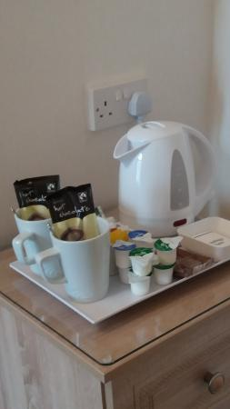 Hafan-y-Mor Guesthouse: All rooms have refreshment facilities