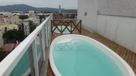 Piscina - Picture of Hotel Al Mare - Florianopolis - TripAdvisor
