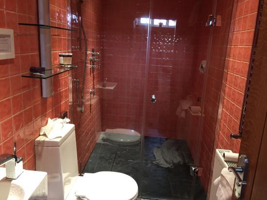 Chipping Campden, UK: Wet room