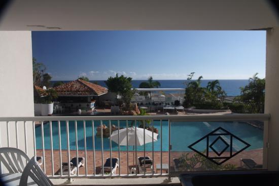 Sapphire Beach Club Resort: vue du balcon