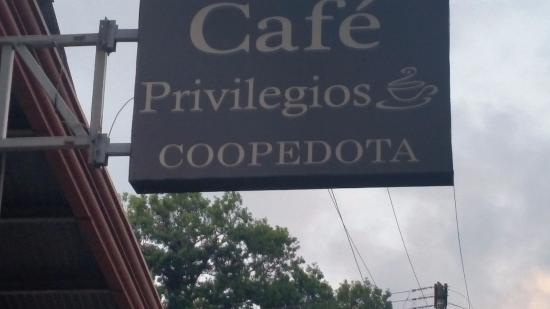 Santa Maria, Kosta Rika: Cafe Privilegios Coopedota