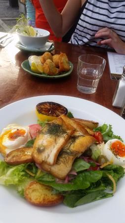 Leigh, Nueva Zelanda: Snapper for dinner