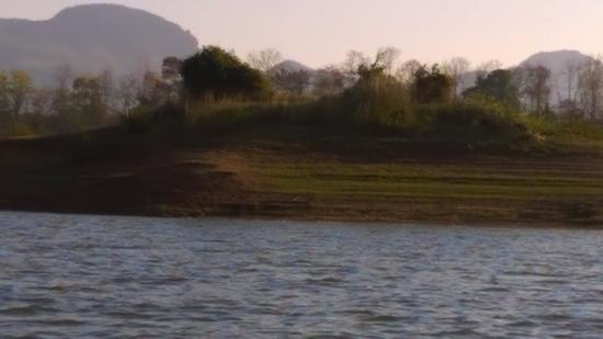 Satpura National Park, India: View from Boat Safari