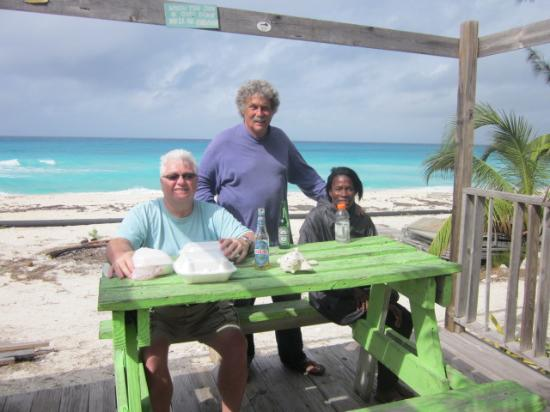 Visit to N. Bimini to grab some lunch with Doug.!