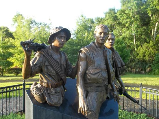 Three Servicemen Statue