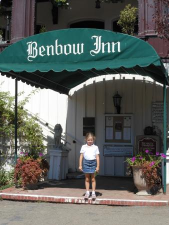 Garberville, Californie : Entrance to Benbow Inn