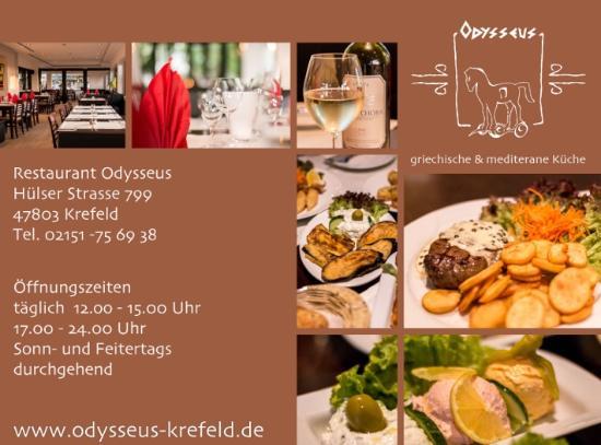 Odysseus Picture Of Restaurant Odysseus Krefeld Tripadvisor