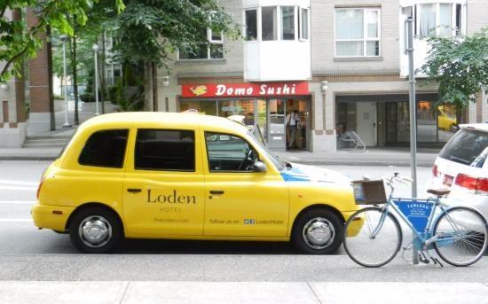 Loden Hotel: London Taxi for guest use