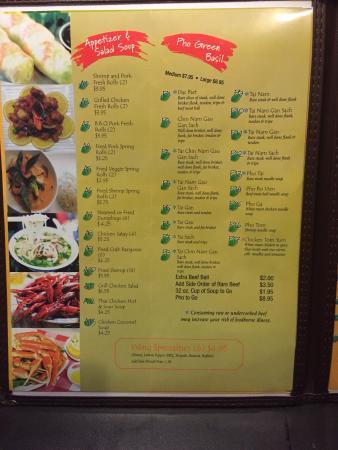 Suwanee, Джорджия: Green Basil Vietnamese & Seafood