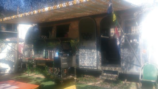 Fitzroy, Australia: The Food Van