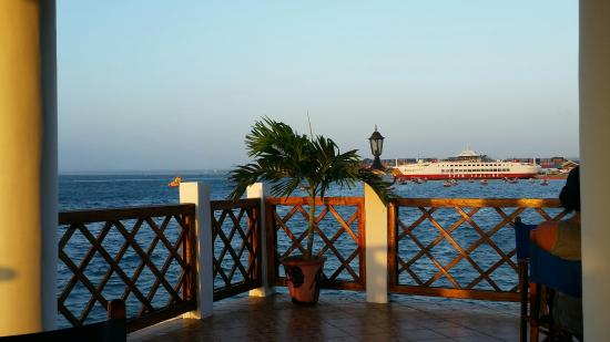 The Floating Restaurant: View from my table