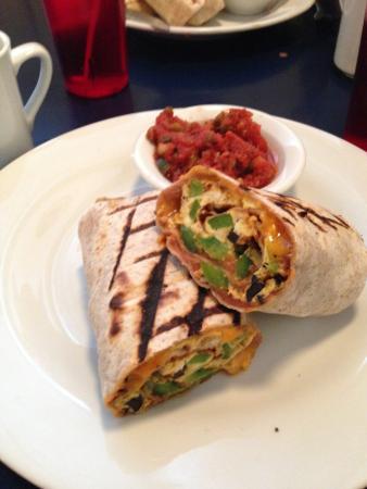Duncan's Cafe: breakfast wrap