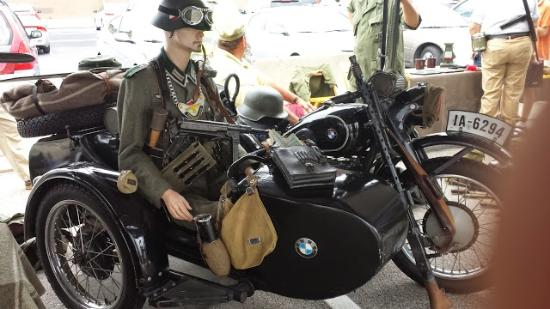 Bmw Museum Tripadvisor >> Captured WWII BMW Army Motorcycle and side car - Picture of South Carolina Military Museum ...