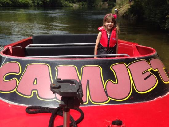 CAMJET Boat Tours Cambridge: About to depart...