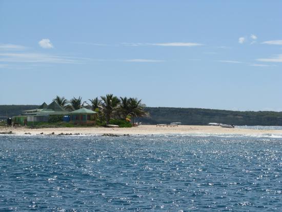Oyster Pond, St-Martin/St Maarten: Sandy Island