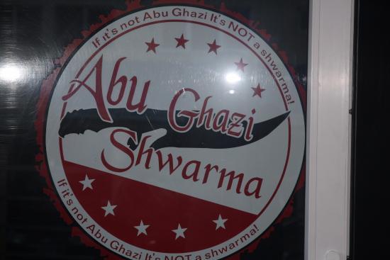 Abu Ghazi Shwarma: Abu Ghazi
