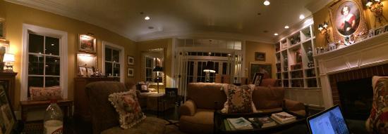 Deer Harbor, WA: Sitting room