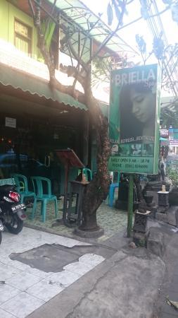 Briella Spa: Entrance