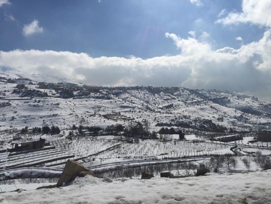 Kfardebian, Líbano: Faraya-Mzaar Ski Resort