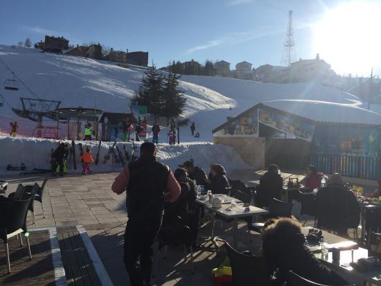 Kfardebian, Libanon: Faraya-Mzaar Ski Resort