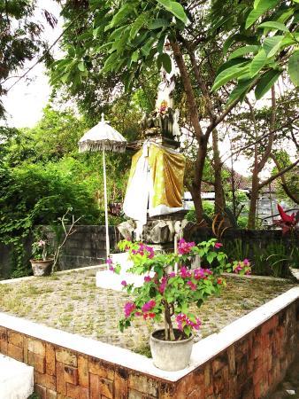 Sayang Sanur Terrace House: 敷地内でチヤナンを添えていました