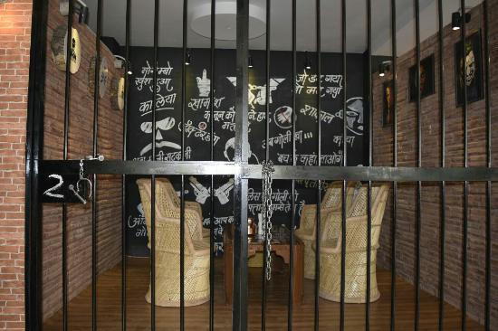Central Jail Restaurant Menu Card