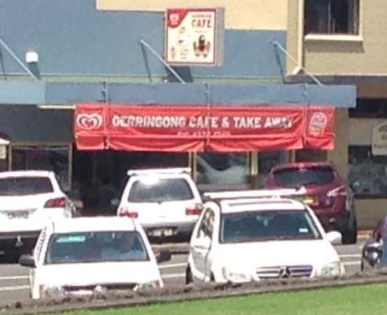 The worst cafe in Gerringong, NSW