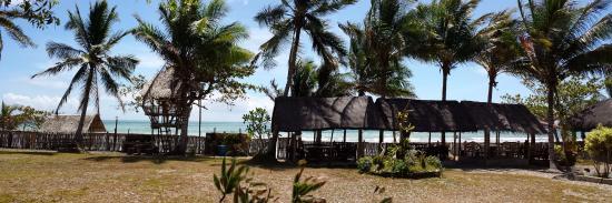 Nitivos Beach Resort: panorama front de mer