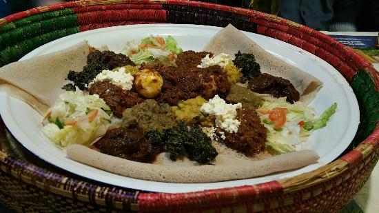 Restaurant Marathon Ethiopien