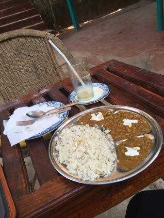 Patnem, Índia: Delicious dahl!