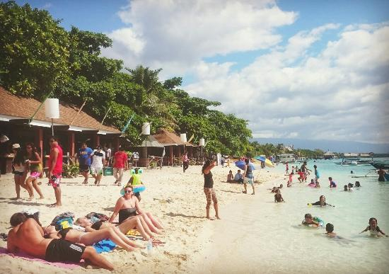Beach Outside Hk Picture Of Hk Beach Resort Moalboal Tripadvisor