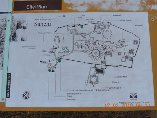 Sanchi Stupa Plan Elevation : Camerazoom  large g picture of