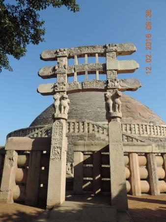 The Toran With Famous Ashoka 4 Lions Which Also Happen To Be Indias