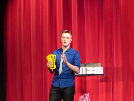 Leon The Magician at The Magic circle in London