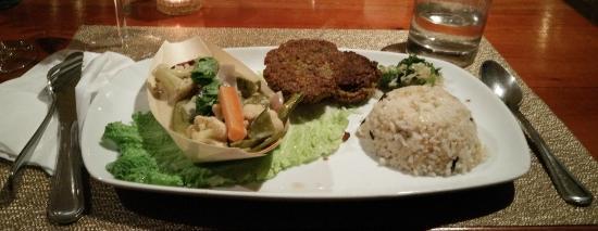San Vito, Costa Rica: Vackra och smakrika vegetariska rätter