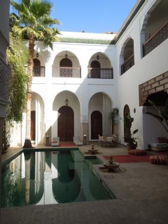 innenhof mit pool picture of riad shama marrakech tripadvisor rh tripadvisor co za