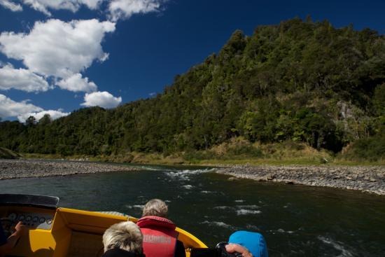 Bridge to Nowhere Lodge : Fahrt zur Loge