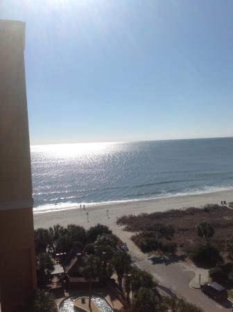 view from 9th floor room picture of the caravelle resort myrtle rh tripadvisor com