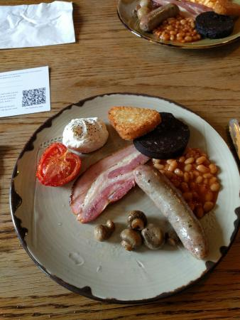 The Dorset Inn: Superb full Monty breakfast