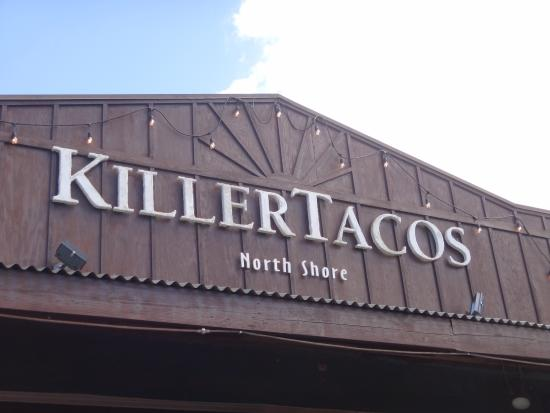 Killer Tacos Incorporated : Exterior Sign