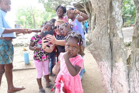 Bayahibe, Dominik Cumhuriyeti: Village de coupeurs de canne à sucre