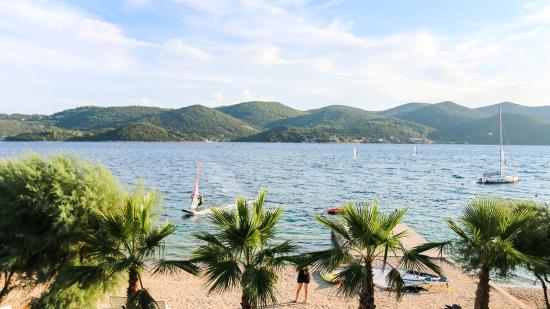 Viganj, Хорватия: The view