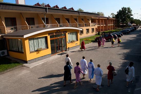 Hotel Thermal Varga: Přímo 80m thermálních lázní na thermální promenádě