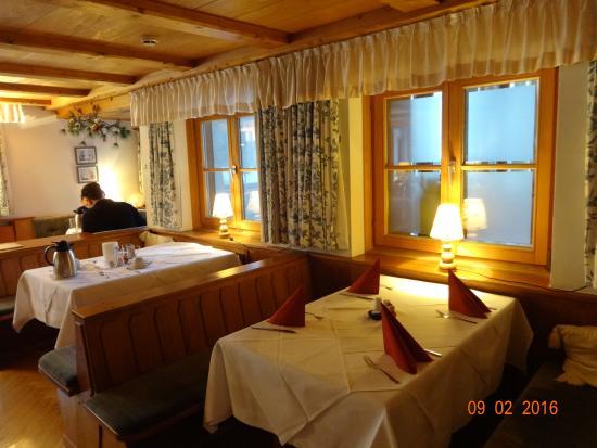 Schroecken, Austria: Teilbereich des Speisesaals
