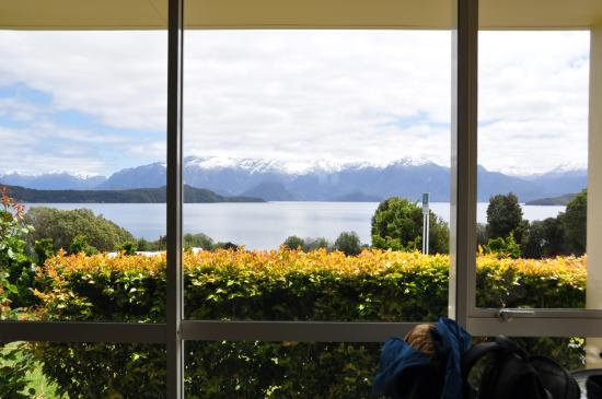 Cathedral Peaks B&B : Room with a view