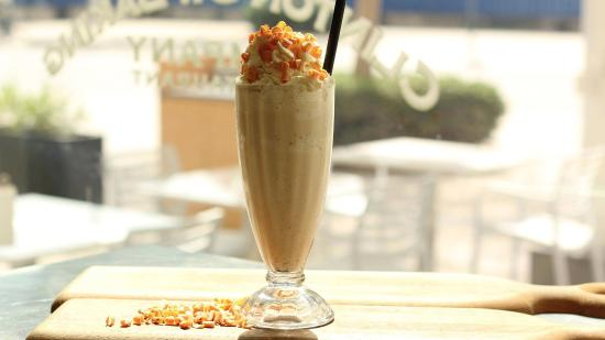 Salted Caramel Milkshake - Picture of Clinton St. Baking Company ...