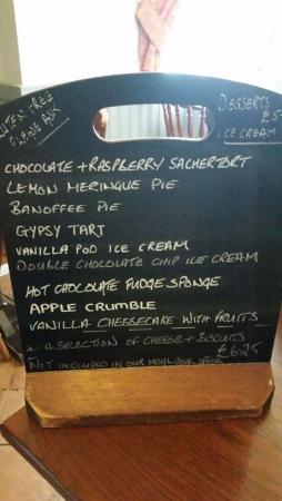 Ash, UK: Desserts