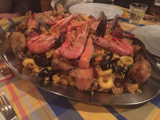 La Stiva Mosnigo.Paella Mista Picture Of Pub La Stiva Moriago Della