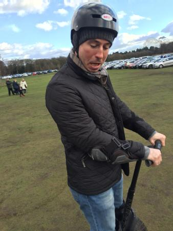 Segway Events: It's a great fun experience. Overpriced for what it actually is, though. They should expand the